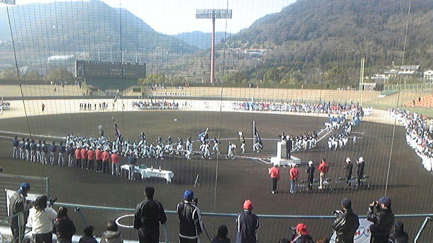 NHK杯香川県学童軟式野球大会開会式